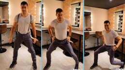 Carlos Rivera demuestra con este baile por qué lo bautizaron como 'El Chayanne mexicano'