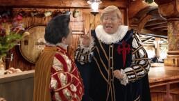 SKETCH: Donald Trumporio