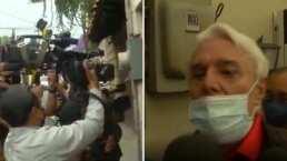 Enrique Guzmán explota ante la prensa y corre a todos de su casa