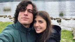 Michelle Renaud y Danilo Carrera derrochan amor en su primer día sin estar juntos