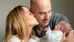 A una semana de dar a luz, Érika Zaba presenta a su hijo Emiliano