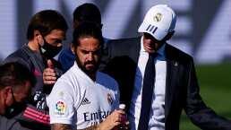 Zidane aclaró la falta de minutos de Isco