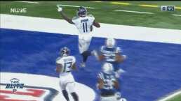 ¡Nadie lo para! AJ Brown logra un touchdown de 69 yardas