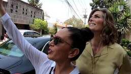 'Montse & Joe' visitan a Silvia Pinal