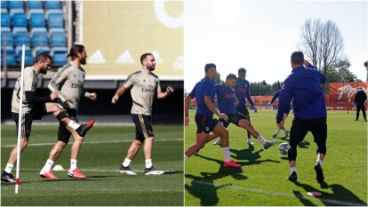 - Así se entrenaron este 18 de mayo al comenzar el día y, una nueva semana, en el futbol español.<br>- Se mantiene la idea de que regrese el futbol en LaLiga y los clubes se preparan de forma habitual.</br>