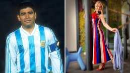 """Andrea Legarreta recuerda cómo conoció a Maradona: """"Me daba terror"""""""