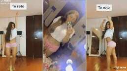Video: Gomita presume su vientre plano y lo celebra bailando en TikTok