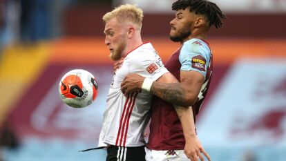 Regresa la Premier League y el Aston Villa reparte puntos con el Sheffield United al empatar sin goles. El Aston Villa sigue penúltimo, en puestos de descenso.
