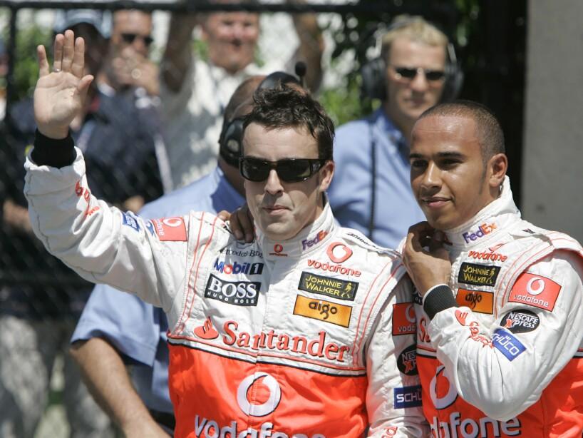 Fernando Alonso; Lewis Hamilton
