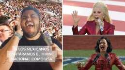 Así se escucharía el Himno Nacional Mexicano al estilo pop y exagerado del Super Bowl
