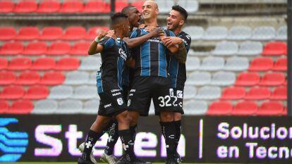El Querétaro dominó a los Xolos de principio a fin y terminó goleándolos por 3-0 con goles de Nahuelpán, Ruiz y Castillo.
