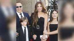 Los hijos de Thalía roban cámara con su carisma durante un evento
