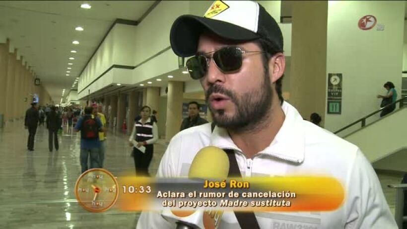 José Ron desmiente que Madre sustituta se haya calcelado