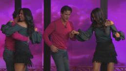 Paola Rojas vuelve a mostrar lo bien que baila salsa pero ahora junto a Jorge Aravena