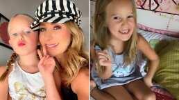 Mira la sorpresa que le trajo el ratón de los dientes a Miranda, hija de Geraldine Bazán