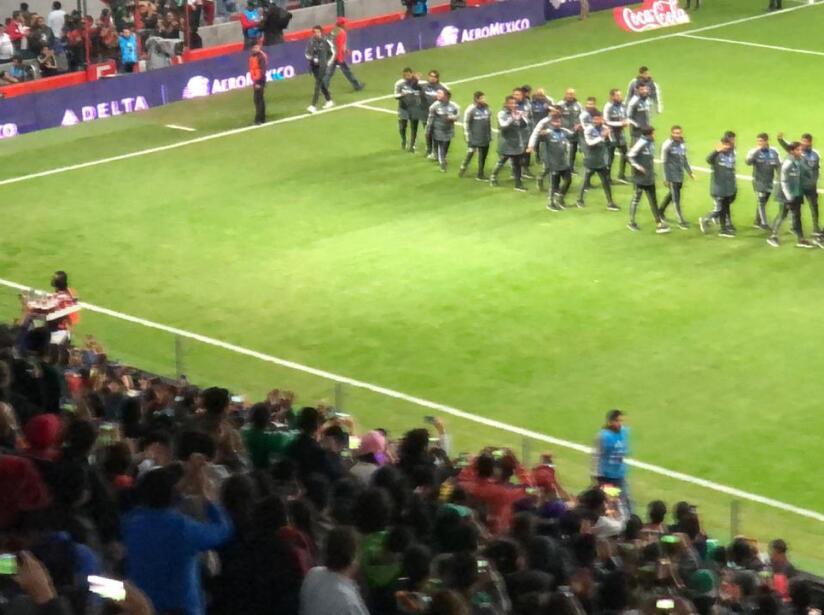 Tras la gran actuación que tuvieron en la Copa Mundial Sub-17 en Brasil, los jugadores recibieron un emotivo homenaje.