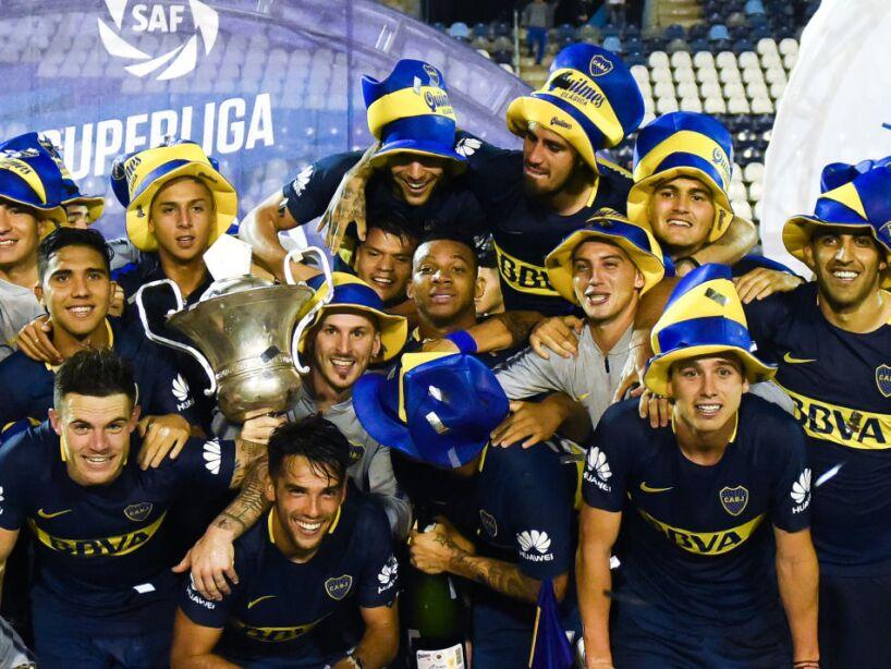 Gimnasia y Esgrima La Pata v Boca Juniors - Superliga 2017/18