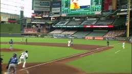 La terrible lesión de Altuve con Astros ante Rangers