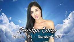 La modelo Joselyn Cano recibe el último adiós de familiares y amigos en una misa de cuerpo presente