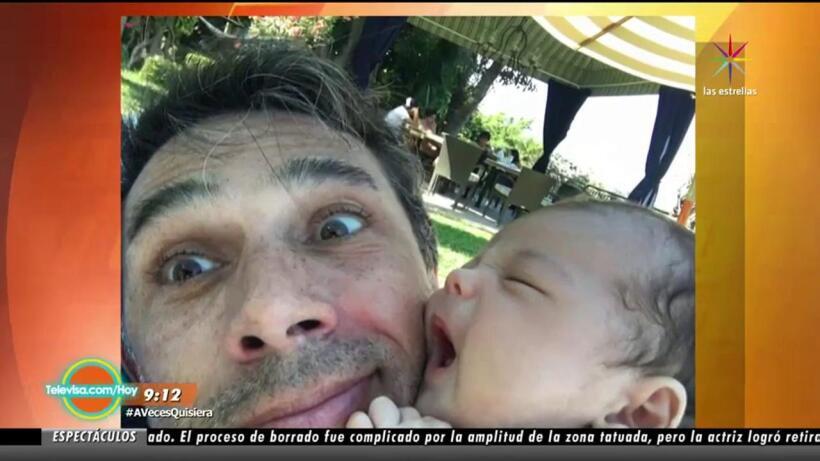 ¡Sergio Mayer revela por qué su hijo no está en México!