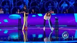 Tania Rincón y Mauricio Barcelata viven un 'Verano Peligroso' en Minuto Para Ganar VIP