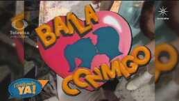 Así lucían Eduardo Capetillo, Bibi Gaytán y Andrea Legarreta hace 28 años al protagonizar 'Baila conmigo'