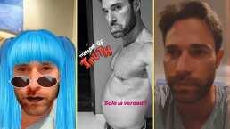 Con divertido filtro, Sebastián Rulli bromea sobre rumores de embarazo de Angelique Boyer