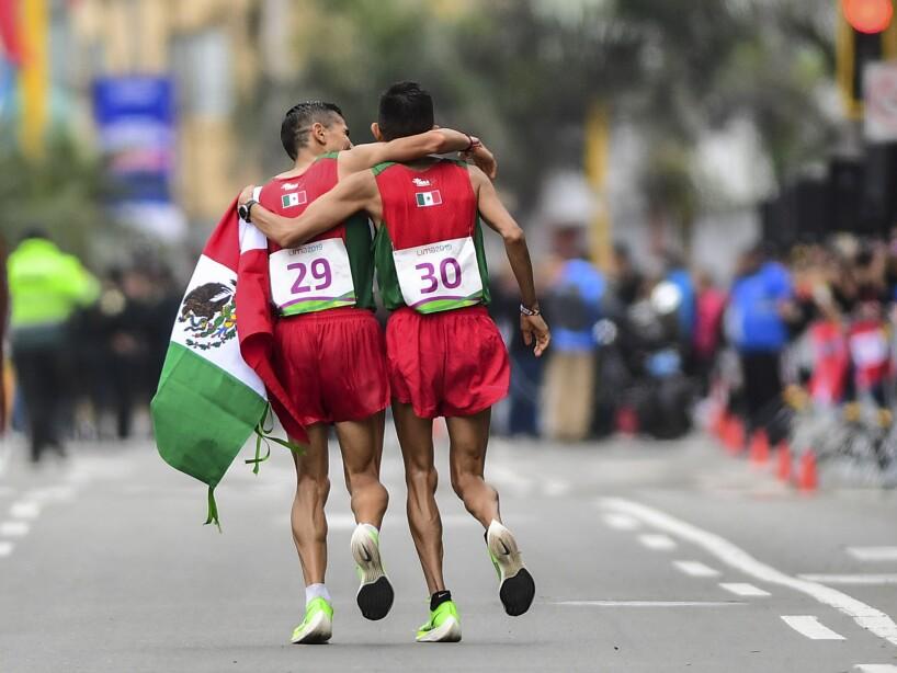Mexicanos en Maratón