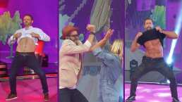 Irina Baeva le metió una bailada a Gabriel Soto y Fastlich a pesar de que ellos enseñaron sus cuadritos