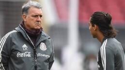 Martino le resta importancia a la actitud de Chicharito