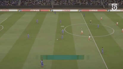 Cruz Azul no logra aguantar la ventaja y en la última jugada del partido Kevin Mercado se logra meter en el área de la Máquina para marcar el tanto del empate.