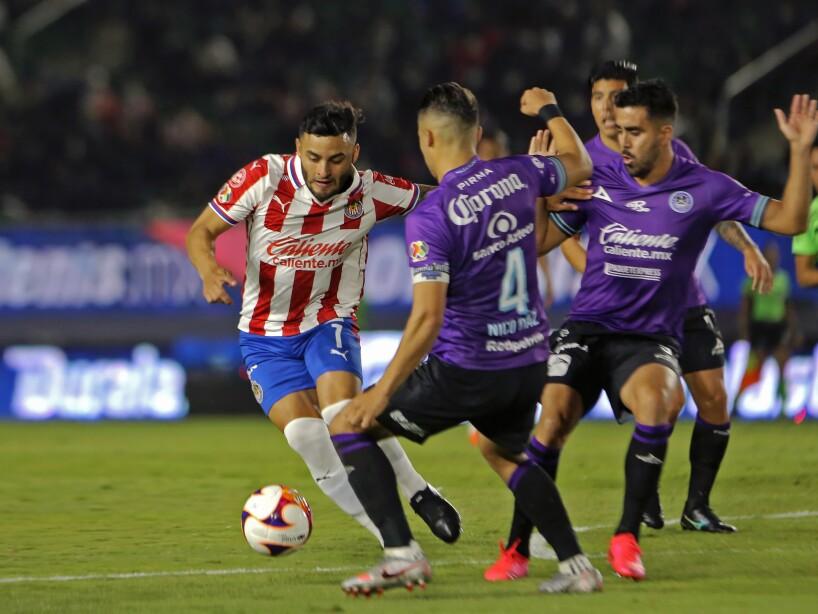 Mazatlán vs Chivas, Liga BBVA MX