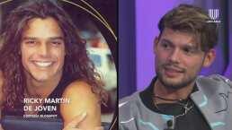Emmanuel Palomares cuenta la vez que lo confundieron con ¡Ricky Martin!