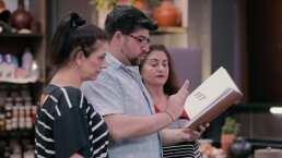Así fue el impresionante menú que la familia Nahum presentó en el primer reto de Familias Frente al Fuego