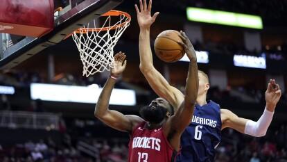 Houston Rockets 123-137 Dallas Mavericks