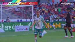 ¡Sentencia al Atlas! Osvaldo Rodríguez firma el 1-3 con un fogonazo
