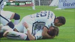 ¡Qué golazo! Waller saca un potente remate para el 1-0 de Pumas