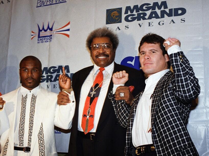 Los legendarios combates en el Grand Garden Arena del MGM.