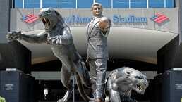 Panthers quitan estatua de Jerry Richardson por racismo