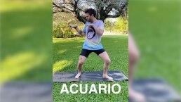 Signos del zodiaco haciendo yoga