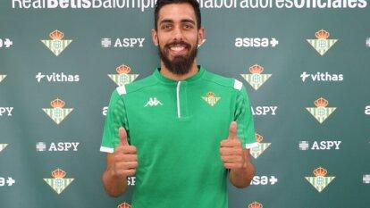 Borja Iglesias es nuevo jugador del Betis a cambio de 28 millones de euros.
