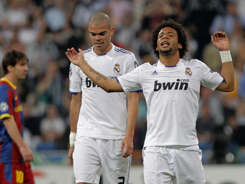 Lionel Messi, Pepe, Marcelo
