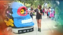 VIDEO: ¡Mexicráneos en el Paseo de la Reforma!