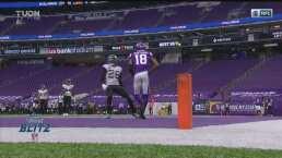 ¡Jefferson rompió una cintura! Vikings toma la ventaja con el TD