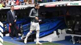 ¿Vestidor roto? Bale y James se van antes del final ante el Betis