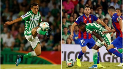 Guardado alineó y Diego Lainez entró de cambio. Llegan a nueve puntos en la tabla general.