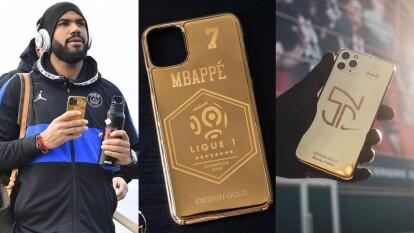 - El Paris Saint-Germain fue declarado campeón en la Ligue 1 de Francia a causa del COVID-19<br>- Se mencionó que jugadores del equipo recibieron una funda personalizada bañada en oro de 24 quilates por la compañía IDesignGold. <br>- Sin embargo, el propio club francés desmentió el supuesto regalo.<br>- Los diseños de las fundas para celular son espectaculares y los jugadores si tienen una relación cercana con la marca que ya les ha diseñado fundas anteriormente.</br></br></br>