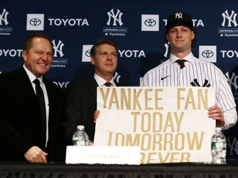 New York Yankees Introduce Gerrit Cole