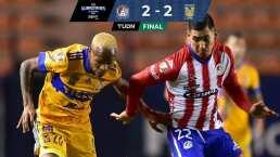 Nico Ibañez se viste de héroe y empata ante Tigres