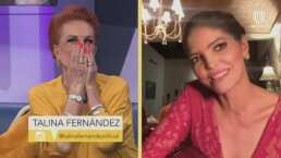 Talina Fernández reconoce que Ana Bárbara fue una madre para sus nietos